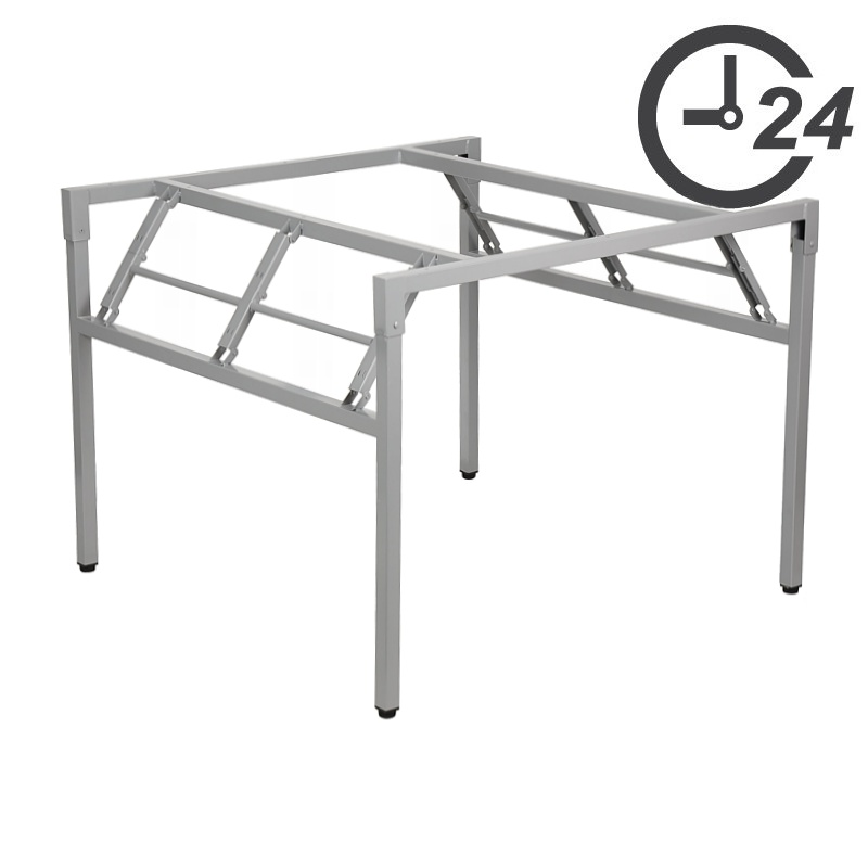Folding table and desk frames