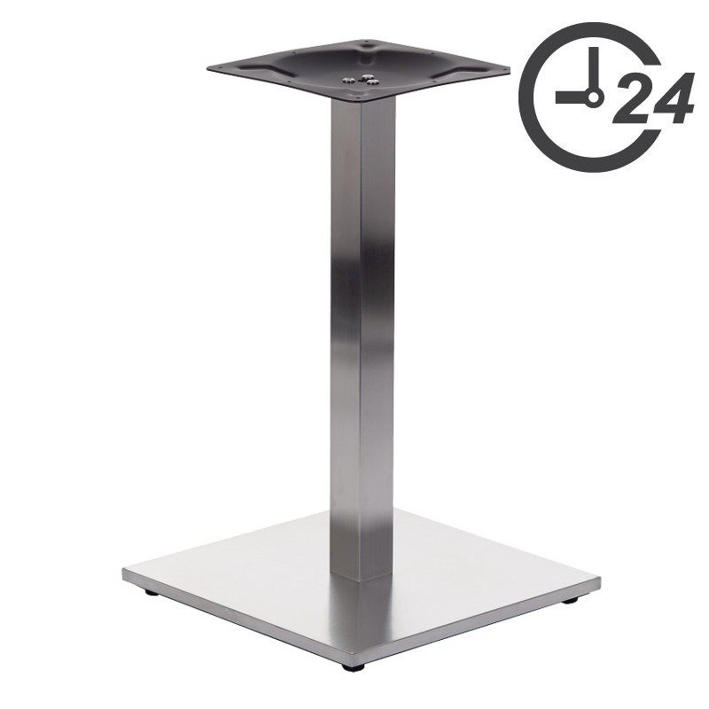 Table bases - stainless steel
